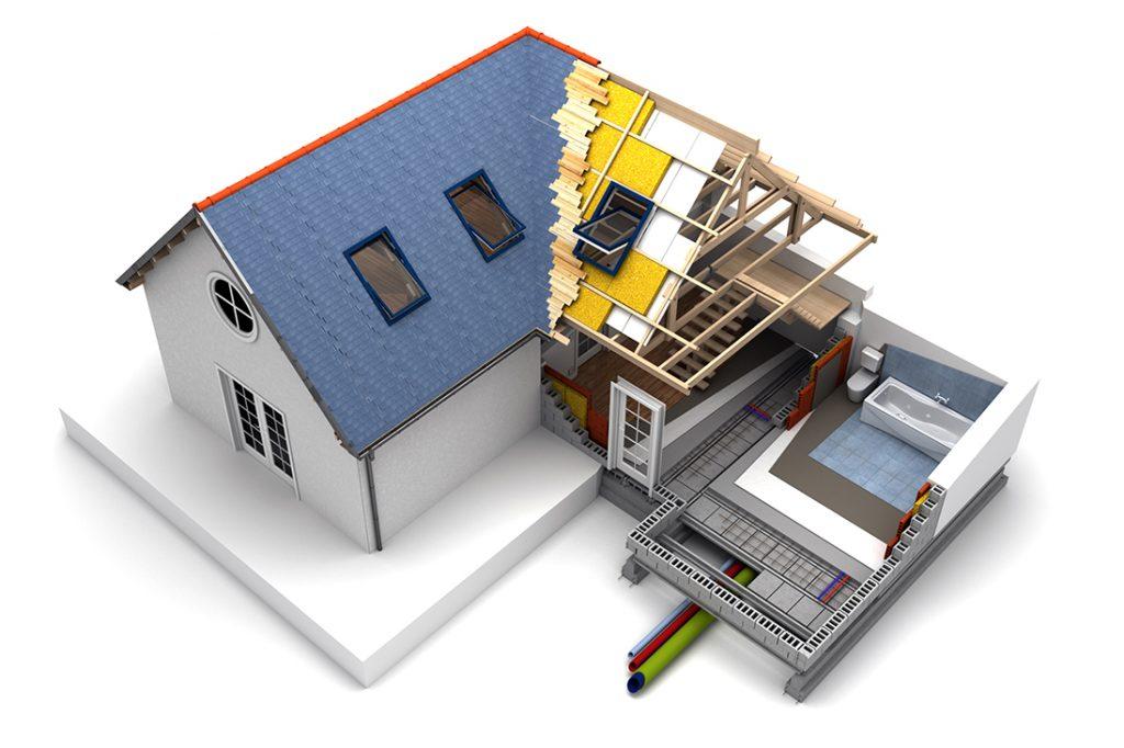 Rénovation énergétique d'une maison