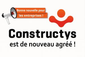 Constructys de nouveau agréé par le Ministère du travail
